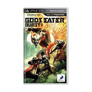 Jogo Gods Eater Burst - PSP
