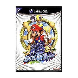 Jogo Super Mario Sunshine - GameCube