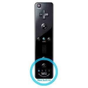 Controle Wii Remote Plus Preto - Wii