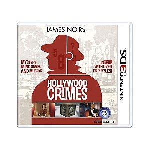 Jogo James Noir's Hollywood Crimes - 3DS