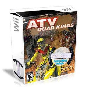 Jogo ATV Quad Kings com Volante - Wii