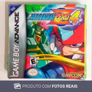 Jogo Mega Man Zero 4 - GBA Game Boy Advance