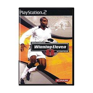 Jogo Winning Eleven 8 - PS2