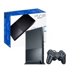Console PlayStation 2 Slim Preto - Sony