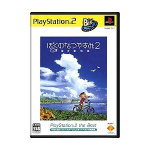 Jogo Boku no Natsuyasumi 2: Umi no Bouken Hen - PS2 (Japonês)