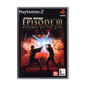 Jogo Star Wars Episode III: Revenge of the Sith - PS2