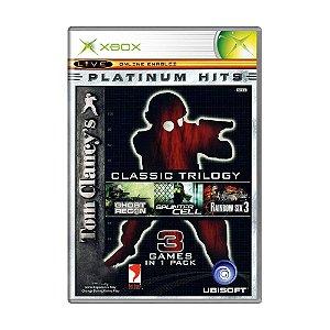 Jogo Tom Clancy's Classic Trilogy - Xbox