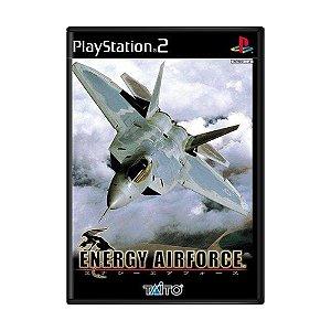 Jogo Energy Airforce - PS2 (Japonês)