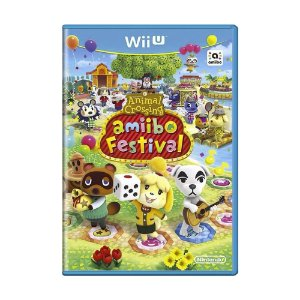 Jogo Animal Crossing: amiibo Festival - Wii U (Europeu)