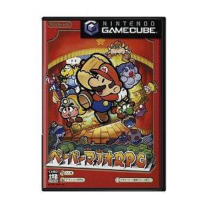 Jogo Paper Mario: The Thousand-Year Door - GameCube (Japonês)