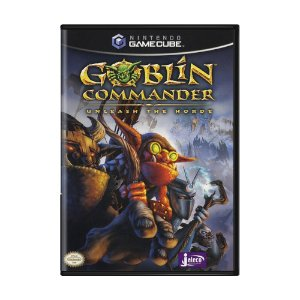 Jogo Goblin Commander: Unleash the Horde - GameCube
