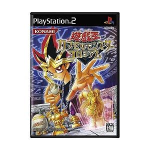 Jogo Yu-Gi-Oh! Capsule Monster Coliseum - PS2 (Japonês)