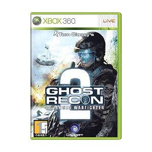 Jogo Tom Clancy's Ghost Recon Advanced Warfighter 2 - Xbox 360 (Japonês)