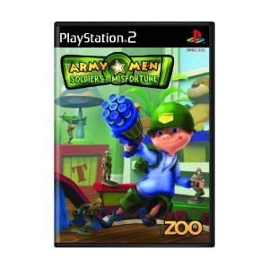 Jogo Army Men: Soldiers of Misfortune - PS2
