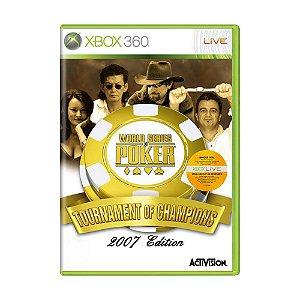 Jogo World Series of Poker: Tournament of Champions - Xbox 360