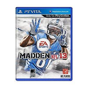 Jogo Madden NLF 13 - PS Vita