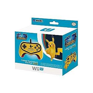 Controle Pokkén Tournament Pro Pad Amarelo - Wii U