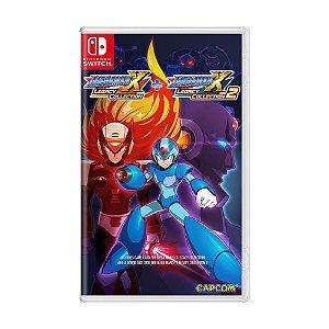 Jogo Mega Man X Legacy Collection 1 + 2 - Switch