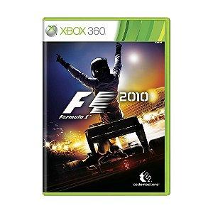 Jogo F1 2010 - Xbox 360