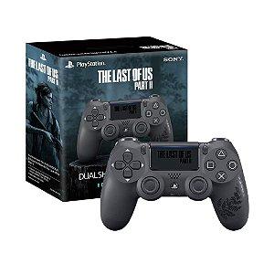 Controle Sony Dualshock 4 (Edição The Last of Us Parte II) sem fio - PS4