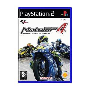 Jogo MotoGP 4 - PS2 (Europeu)