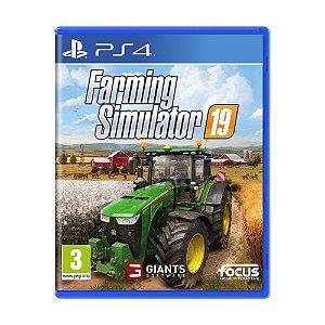 Jogo Farming Simulator 19 - PS4