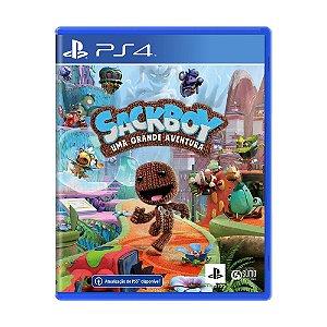 Jogo Sackboy: Uma Grande Aventura - PS4