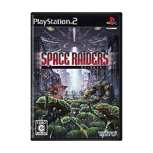 Jogo Space Raiders - PS2 (Japonês)