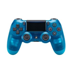 Controle Sony Dualshock 4 Crystal Blue sem fio - PS4