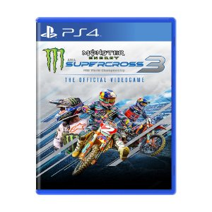 Jogo Monster Energy Supercross - The Official Videogame 3 - PS4