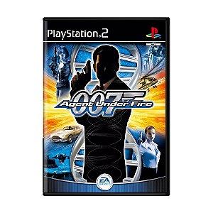 Jogo 007 Agent Under Fire - PS2