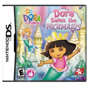 Jogo Dora Saves The Mermaids - DS
