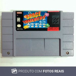 Jogo Space Invaders - SNES