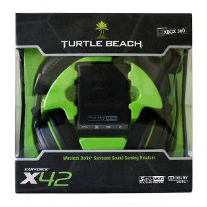 Headset Turtle Beach Ear Force X42 sem fio - Xbox 360