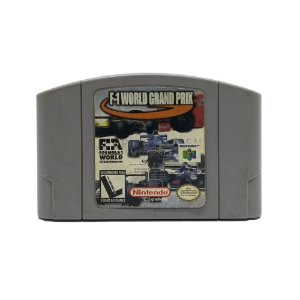 Jogo F1 World Grand Prix - N64