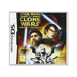 Jogo Star Wars: The Clone Wars – Héroes de la República - DS (Europeu)