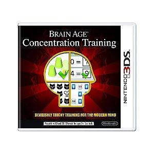 Jogo Brain Age: Concentration Training - 3DS