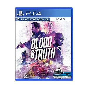 Jogo Blood & Truth - PS4