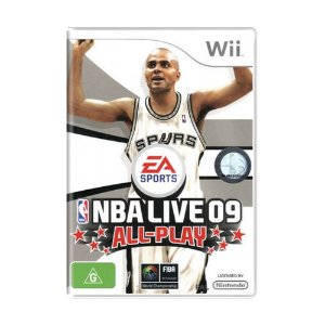 Jogo NBA Live 09: All-Play - Wii (Europeu)
