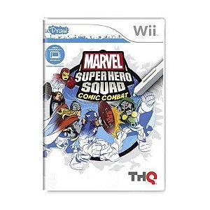 Jogo Marvel Super Hero Squad: Comic Combat - Wii (Europeu)