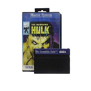 Jogo The Incredible Hulk - Master System