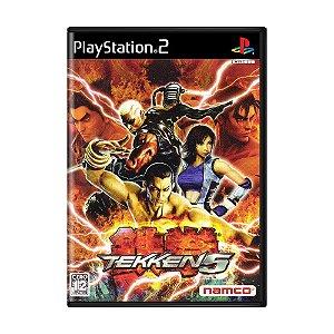 Jogo Tekken 5 - PS2 (Japonês)