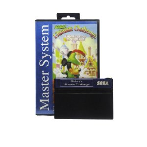 Jogo Mickey's Ultimate Challenge - Master System