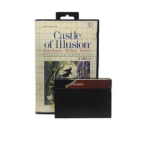 Jogo Castle of Illusion: Estrelando Mickey Mouse - Master System