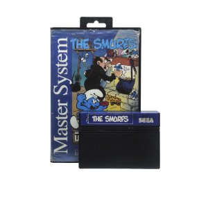 Jogo The Smurfs - Master System