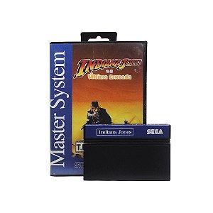 Jogo Indiana Jones e a Última Cruzada - Master System