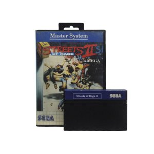 Jogo Streets of Rage II - Master System
