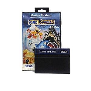 Jogo Sonic Spinball - Master System