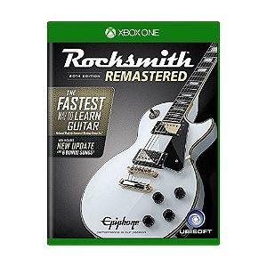Jogo Rocksmith 2014 Edition: Remastered - Xbox One