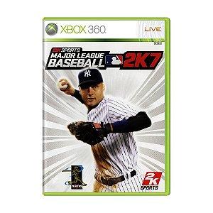 Jogo Major League Baseball 2K7 - Xbox 360